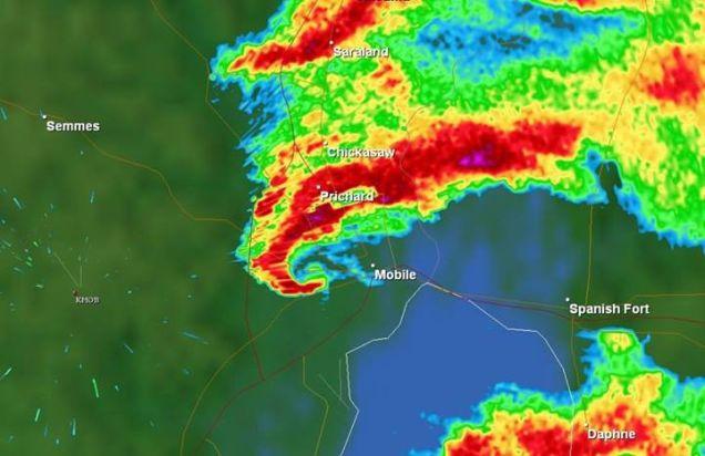 How Do You Spot a Tornado Using Weather Radar?
