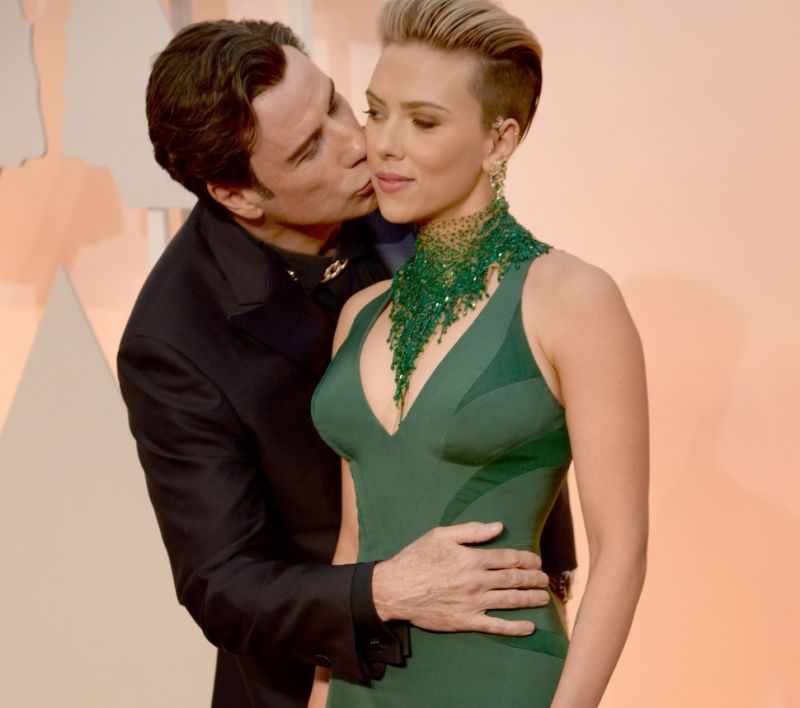 "Scarlett Johansson: John Travolta Isn't ""Strange"" or ..."