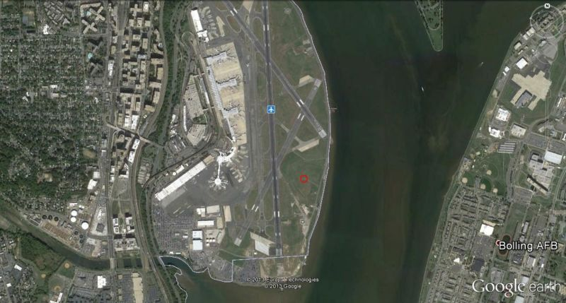 Florida Dca Map.Exploring The Urban Heat Island Washington S Infamous Weather Station