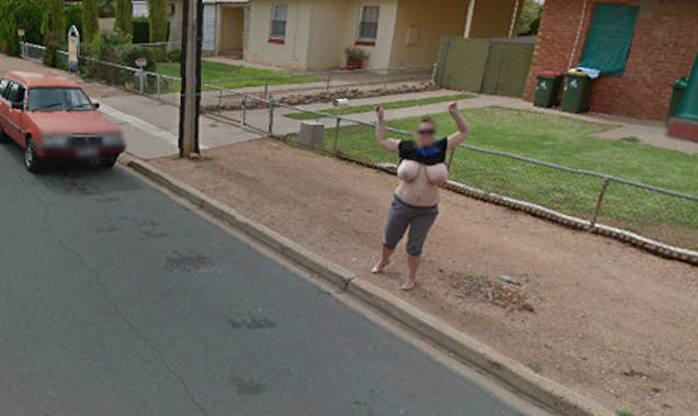 Google earth nude spotting useful