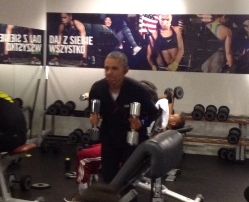 Everything Wrong With Barack Obama's Workout
