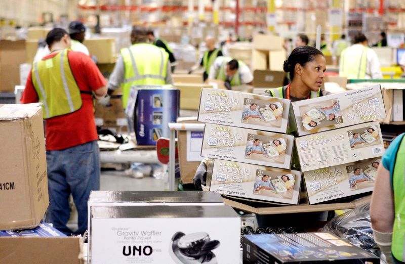 Image result for amazon warehouse workers