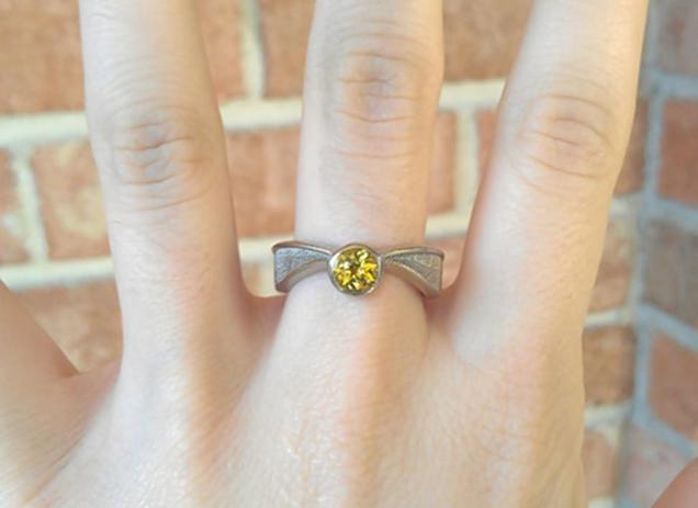 if you buy a harry potter engagement ring you should not get married - Harry Potter Wedding Rings