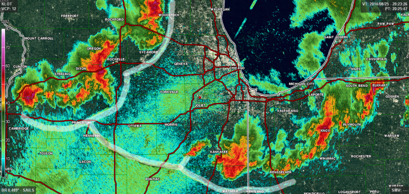 Outflow Boundaries Are Some Of The Coolest Weather Features Around - Doppler radar chicago