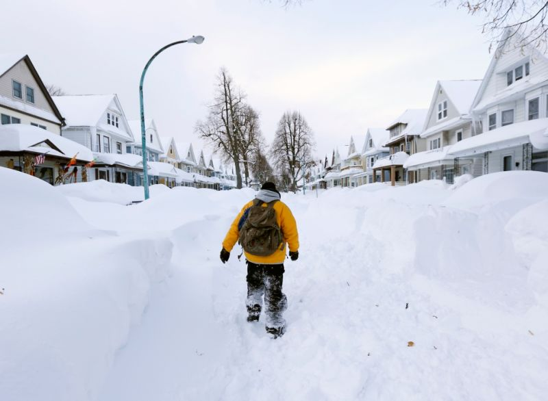Monumental Amount Of Snow Turns Western NY Into Driving Wasteland