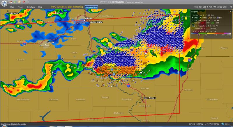 Unleash Your Inner Geek With These Excellent Weather Radar Programs - Omaha nebraska weather radar