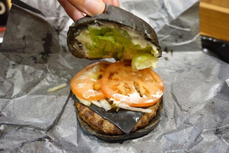 I Ate Burger King Japans Black CheeseburgerAnd The McDonalds - Black hamburger