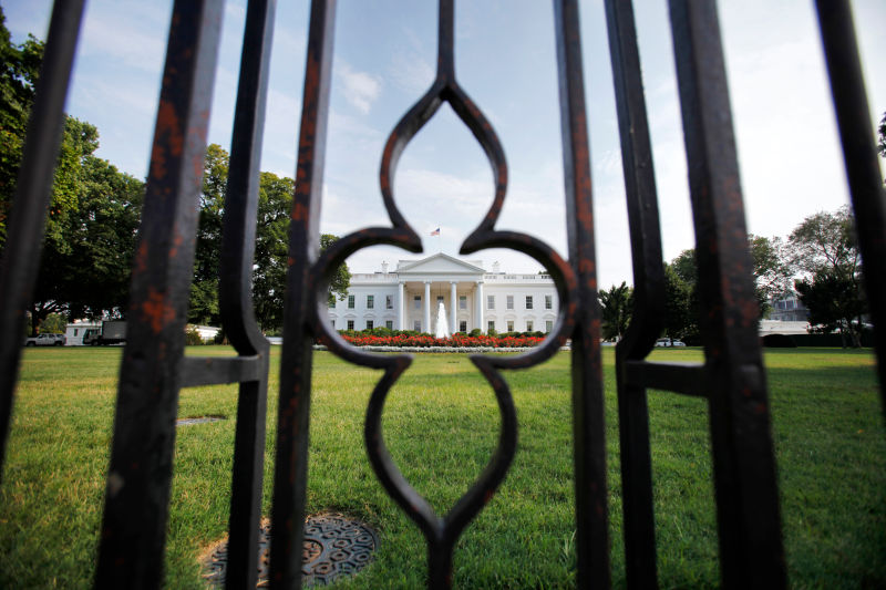 White House Briefly Locked Down After Toddler Squeezes Through Fence