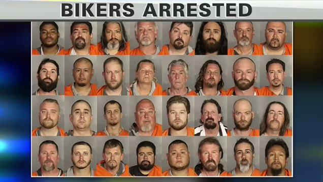 Cops: 170 Bikers Arrested After Shooting That Killed 9 in Waco
