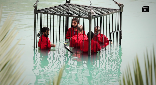 Graphic Execution Video Shows ISIS Drowning, Immolating