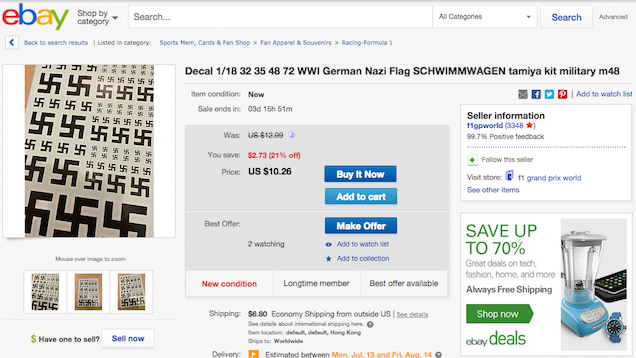 No Confederate Flags? Try These RED HOT eBay Deals for Racists