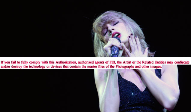 Taylor Swift Is Allowed to Injure Photographers, Per Her Insane Contract