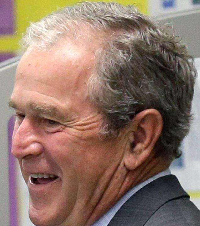 Ten Years On George W Bush S Hair