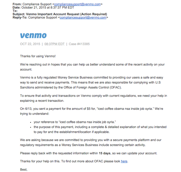 The Words That Will Get You in Trouble on Venmo