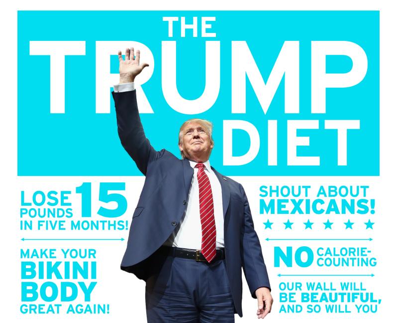 Trump bikini body