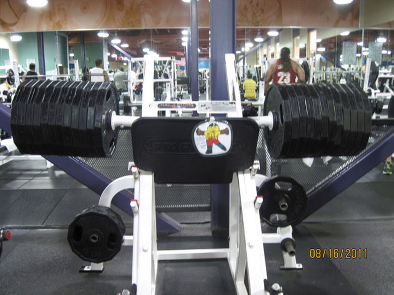 Do Not Brag About Your Leg Press