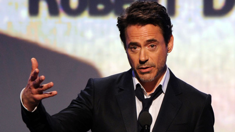 Did Robert Downey Jr  Really Just Accuse Kirk Douglas of a