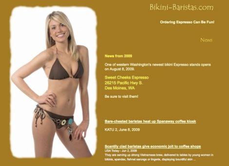 bikini baristas washington