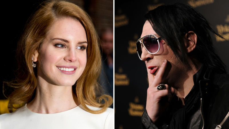 Good Afternoon Lana Del Rey And Marilyn Manson Are Dating