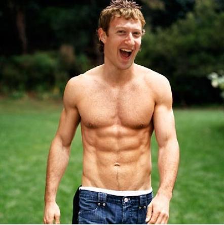 Chizys Spyware: Ladies!!! Mark Zuckerberg Goes Shirtless