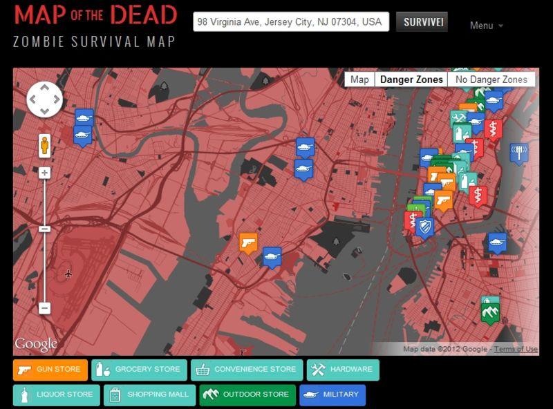 Gawker Gawker Map on