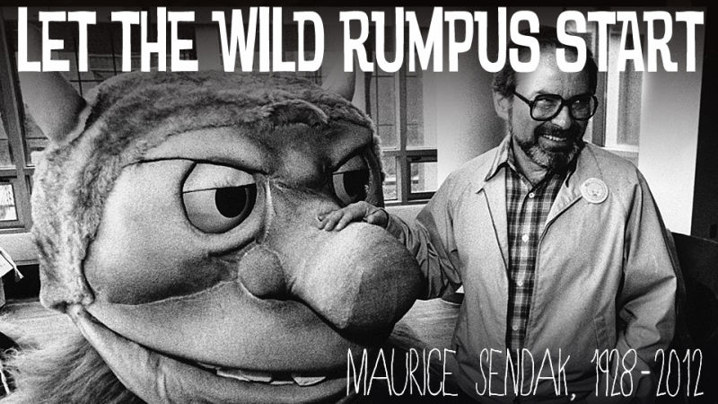 Wild Things Drawings Quotes And Memories From Maurice Sendak