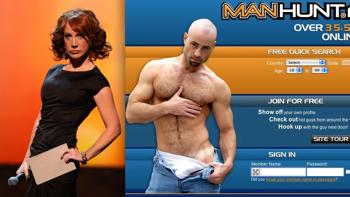 Manhunt for gay men