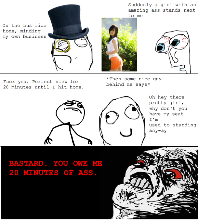 Your Rage Comic Sucks