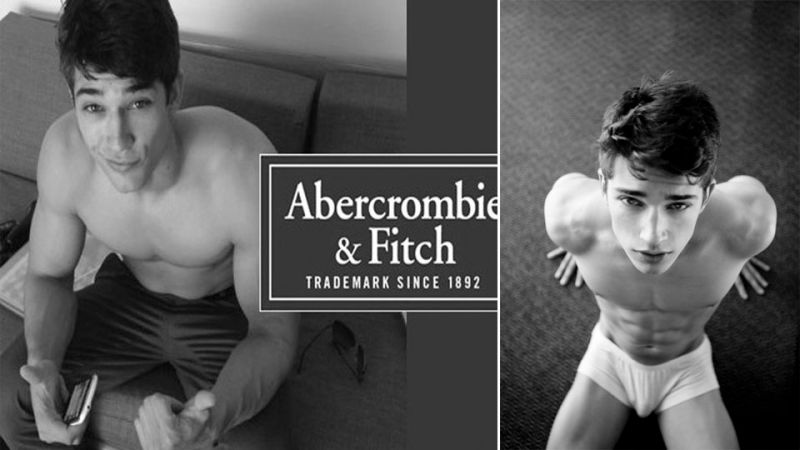 Naked abercrombie and fitch male models