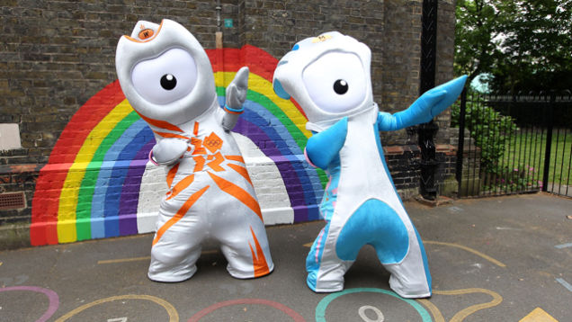 Sports Memorabilia Humor 2012 Olympic Mascot London 2012