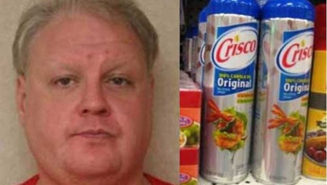Naked Man Covered In Crisco Just Wanted To Party