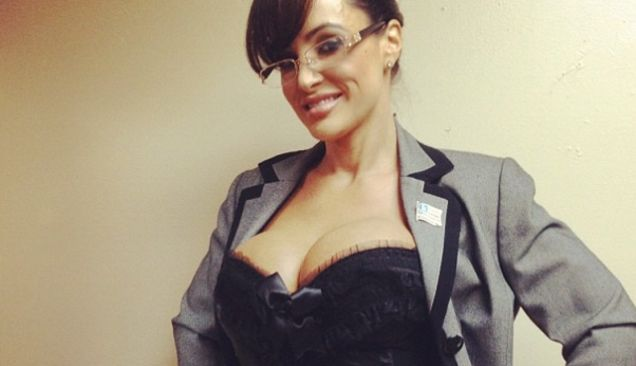 Sarah Palin May Be A No Show At The Republican National Convention In Tampa But For Some Delegates At Least It Seems Her Porn Star Double Lisa Ann Is An