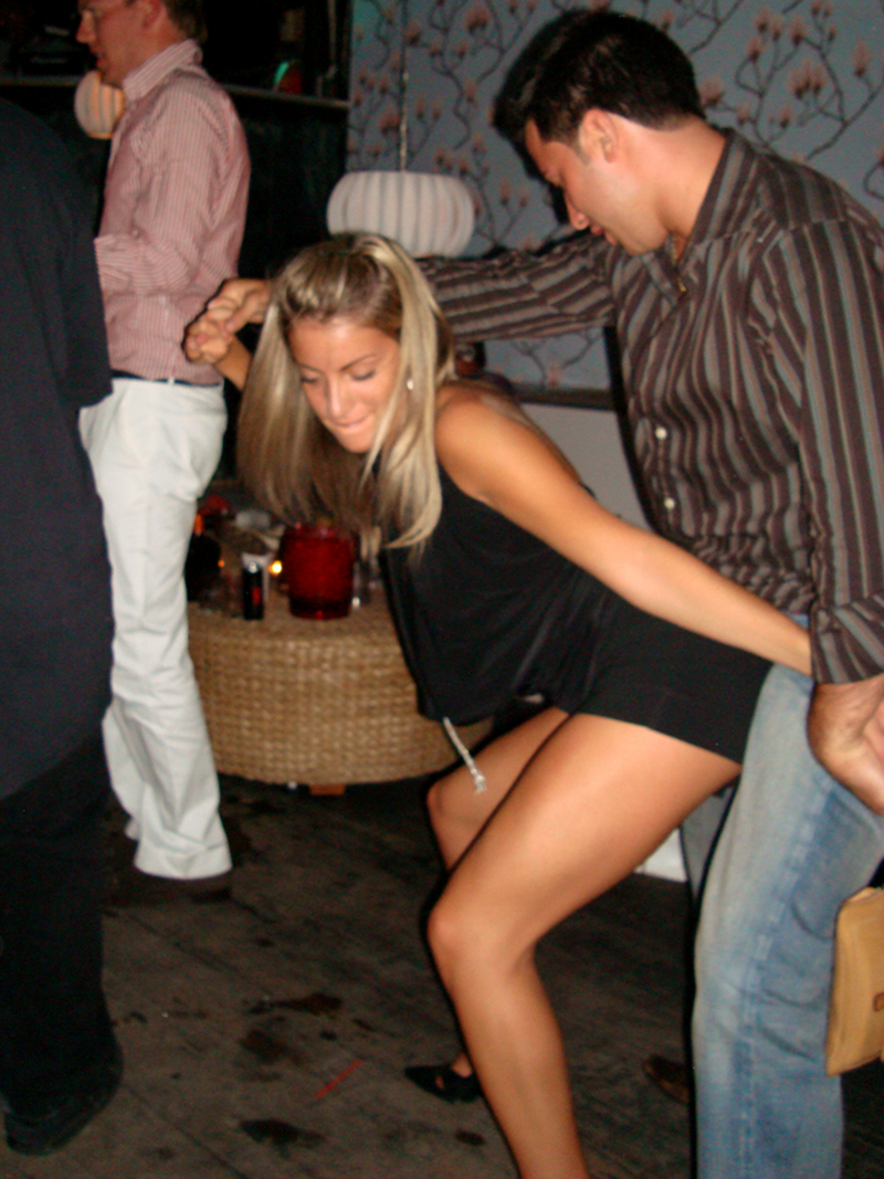Drunk wife spread naked in public