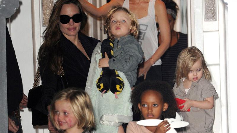Zahara And Pax Jolie Pitt Will Appear In I Maleficent I