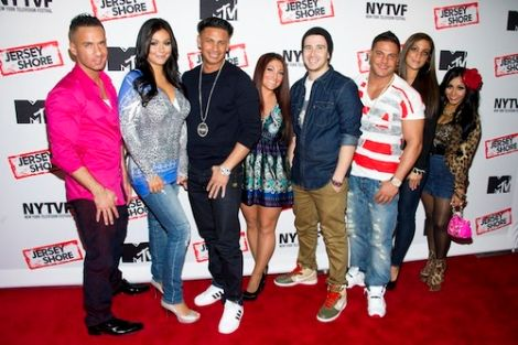 Jersey Shore Cast Trying Their Best To Help Out Hurricane