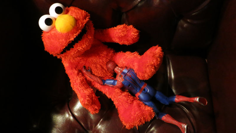 Elmo Left Behind On Sesame Street As Actor Exits With Photo