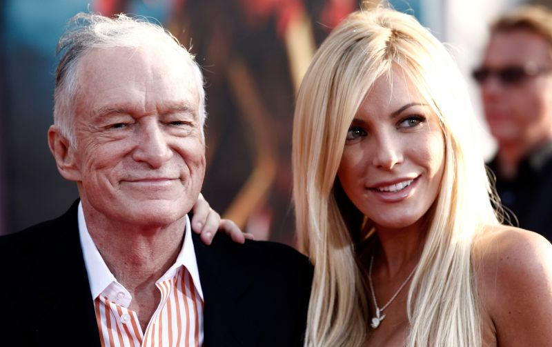 Hugh Hefner Proves That 2013 Is Going To Be The Year Of Love