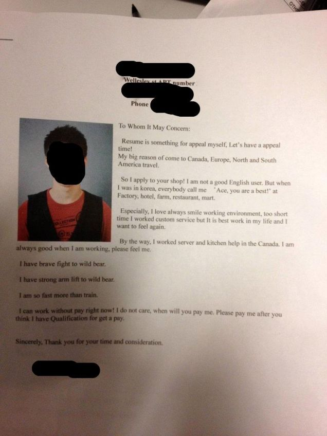 this south korean job seeker u0026 39 s emotional cover letter puts