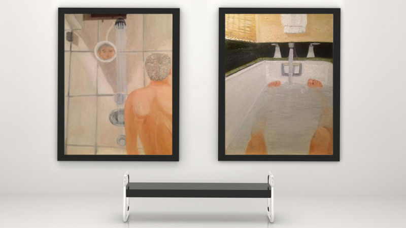 George Bush Painting Bathtub: George W. Bush Is An Outsider Artist, Standing Apart From