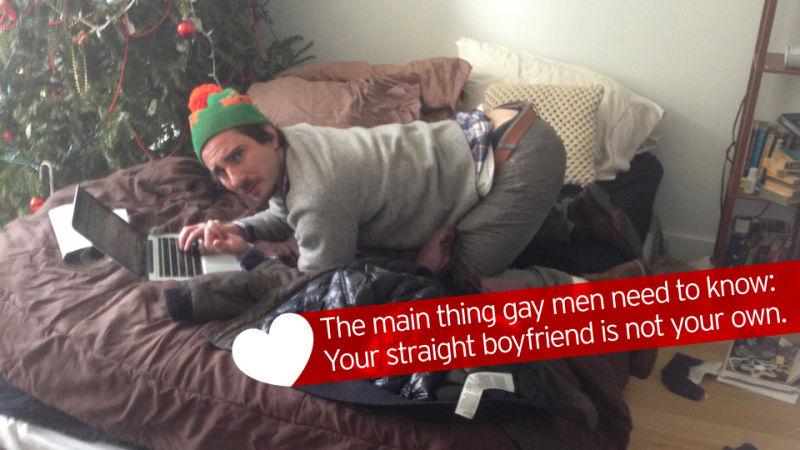 Drunk straight gay