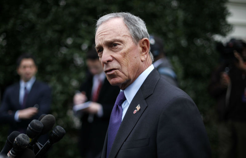 Bloomberg Blames NYC's Homeless Problem on Jet Setting Playboy Millionaires
