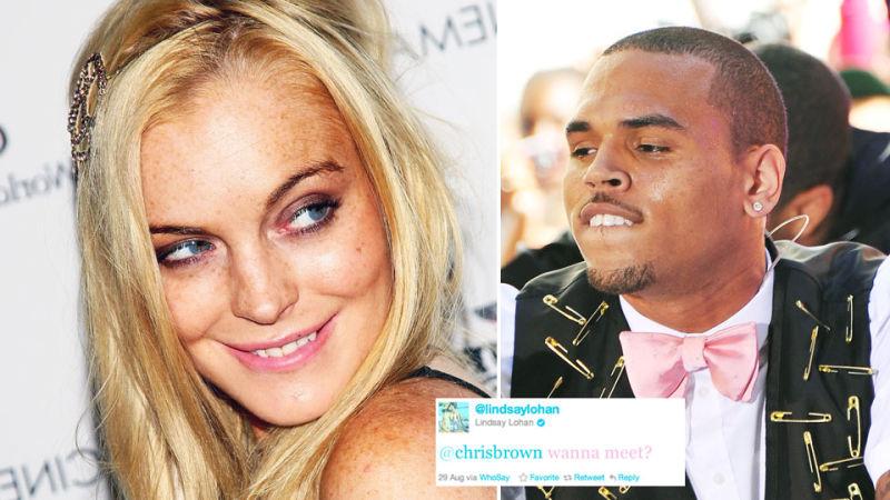 Chris Brown Dating Lindsay Lohan