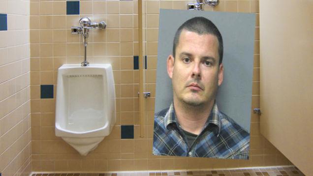 Urinal spy cam