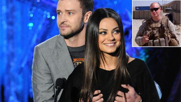 Justin Timberlake Says Yes to Marine Ball Invite