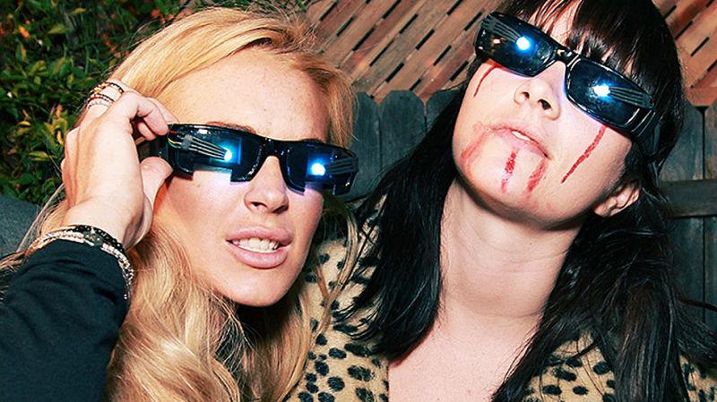 Lindsay Lohan lesbisk sex scene