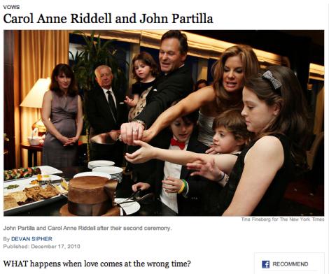 New York Times Wedding Announcement.Homewrecking Couple S Scandalous Em New York Times Em Wedding