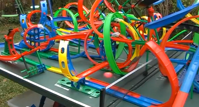 Homemade Hot Wheels Track Definitely Made By Adults