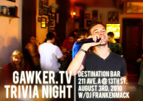 You're Invited: Gawker TV's Television Trivia Night