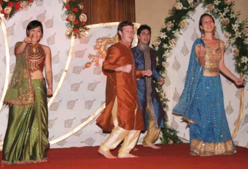 Mark Zuckerberg Is a Star in India, Too