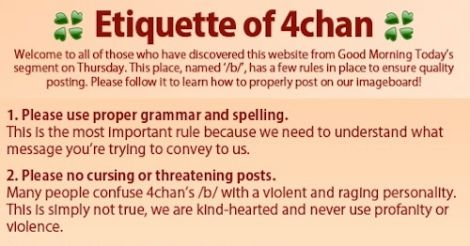 Is 4chan Cleaning Up Its Act?